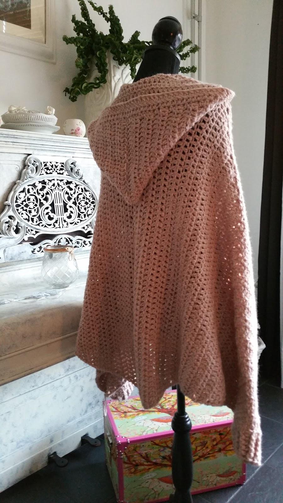 Haken Crochet Poncho Vest Haken