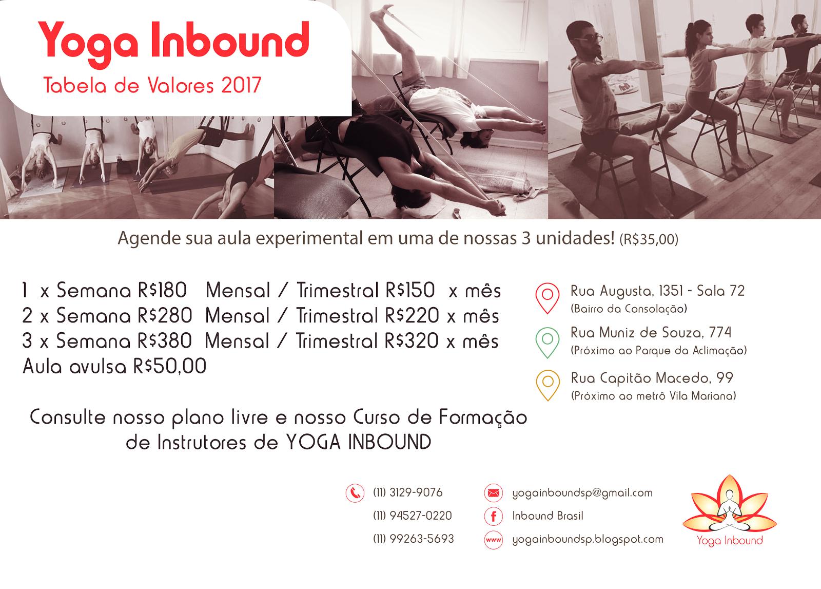 Valores Yoga Inbound