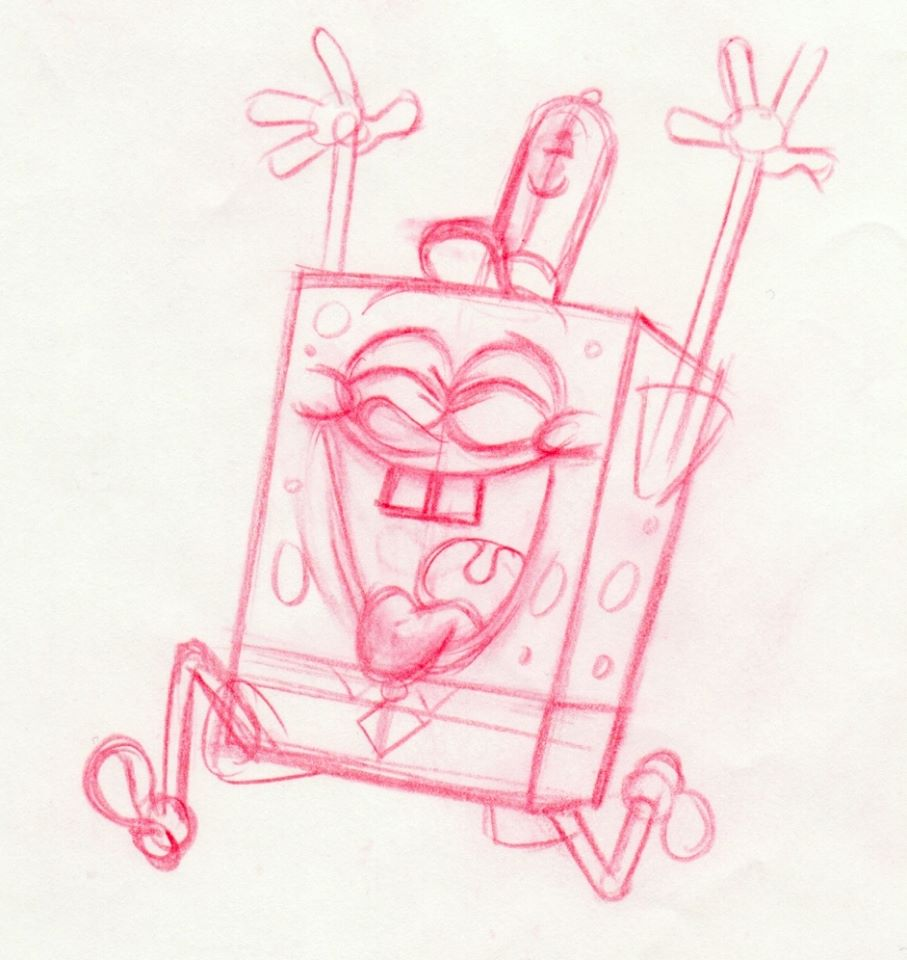 Cartooning Character Design Sherm Cohen Pdf : Cartoon snap spongebob movie some of my storyboard