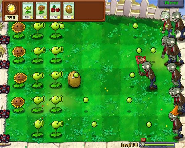 El Juego De Plants V.S Zombies