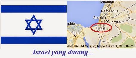 Blogku Di Baca Oleh Israel_peta