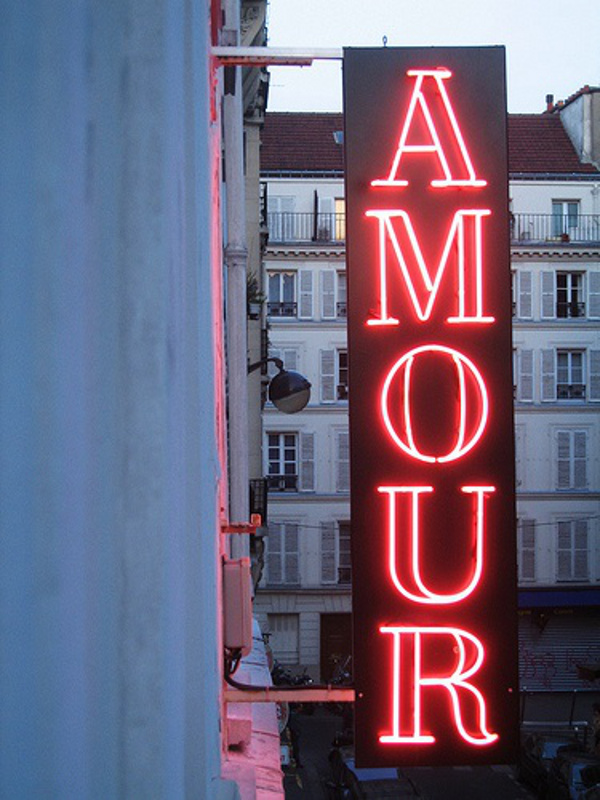 Amour Neon Lights || Allegory of Vanity