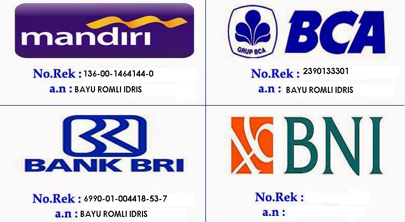 Transfer No. Rekening Bank