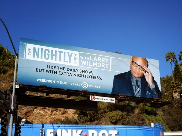 Nightly Show Larry Wilmore billboard