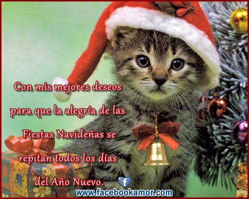 Tarjetas bonitas con mensajes de navidad para facebook - Imagenes de
