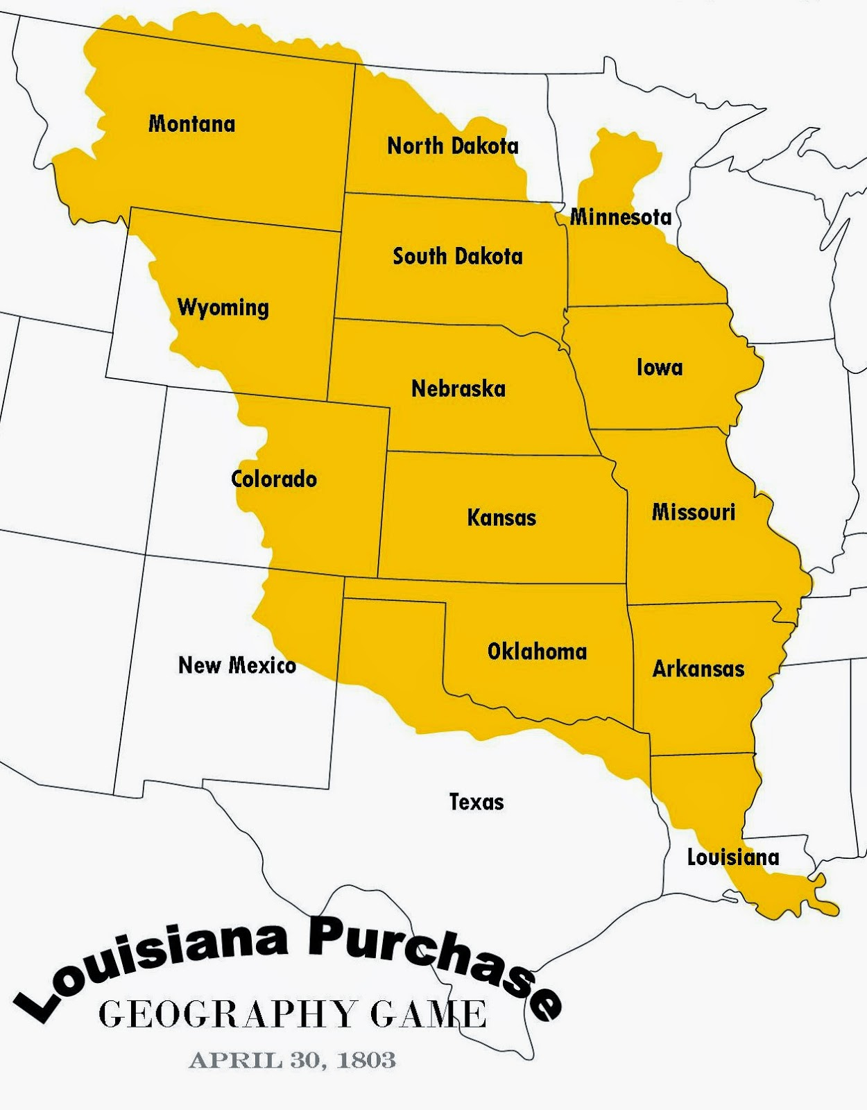 Relentlessly Fun Deceptively Educational Louisiana Purchase