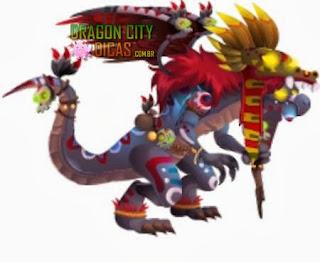 Dragão Sacerdote Asteca