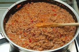 Pastas Horneadas con Salsa de Carne y Queso