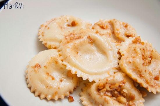 Ricetta di tortelloni di pera e gorgonzola