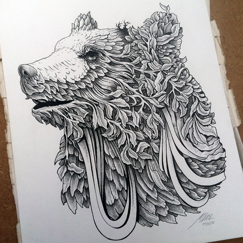 02-Bear-Muthahari-Insani-Beautifully-Detailed-Ink-Drawings-and-Doodles-www-designstack-co