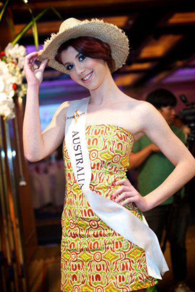 Miss Asia Pacific World Australia 2012