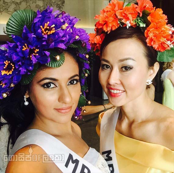 Udari Warnakulasooriya Mrs Sri Lanka for Mrs Globe 2015