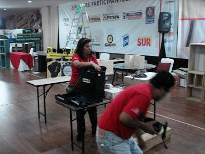 Carpinteros en Feria Proveeduría 2012