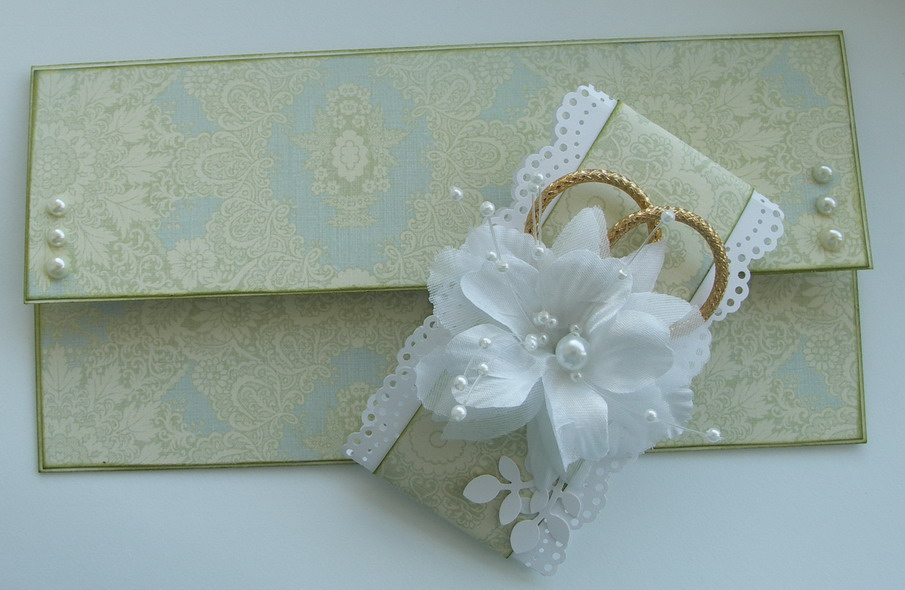 Своими руками конверт для денег на свадьбу