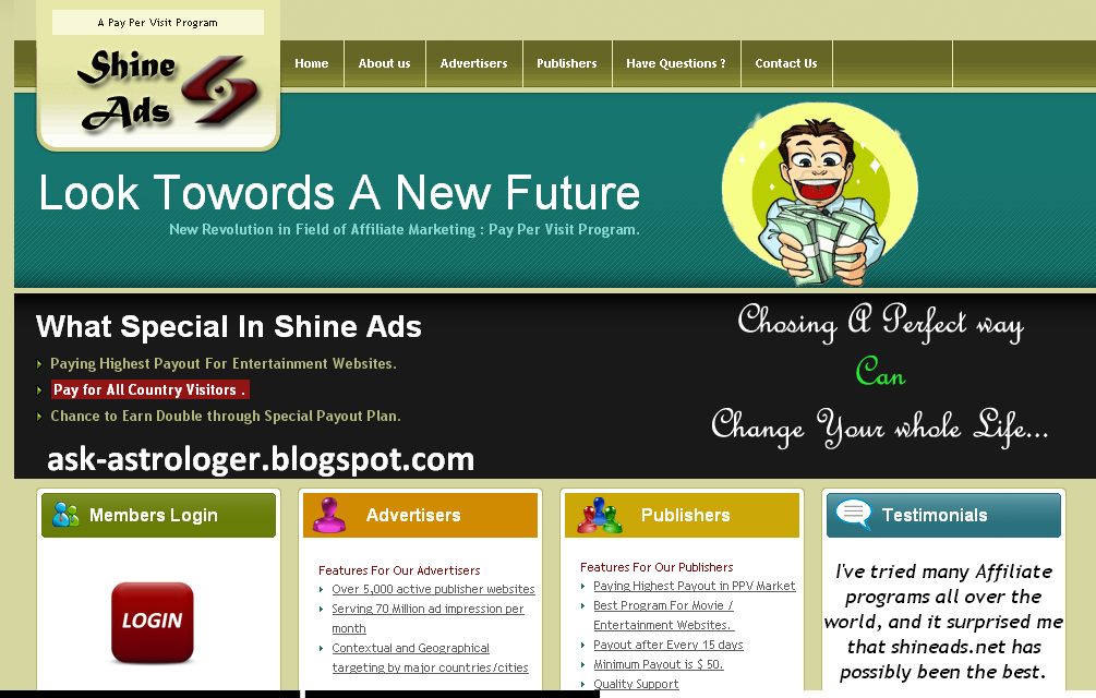 Shineads.Net  Review
