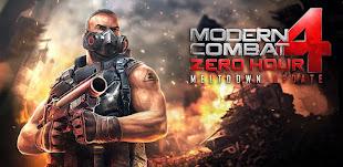 Modern Combat 4: Zero Hour v1.1.0
