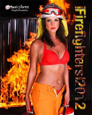 calendario bomberas mujeres