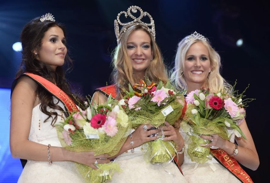 Miss Belgium 2014 winner Laurence Langen