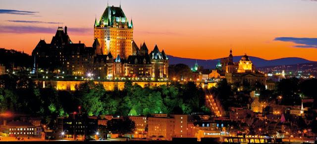نبذة عن مدينة كيبك في كندا وأهم المزارات السياحية فيها