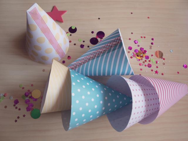 Milowcostblog imprimible conos para chuches - Hacer conos papel ...