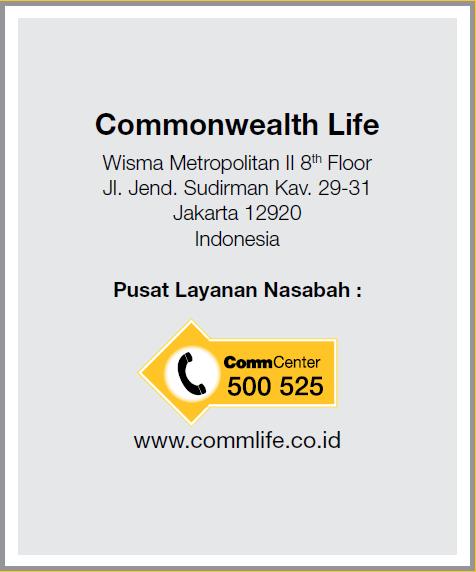 Unit Link Terbaik di Indonesia Commonwealth Life Investra Link
