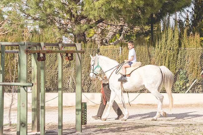 52/19 El primer día que monté a caballo