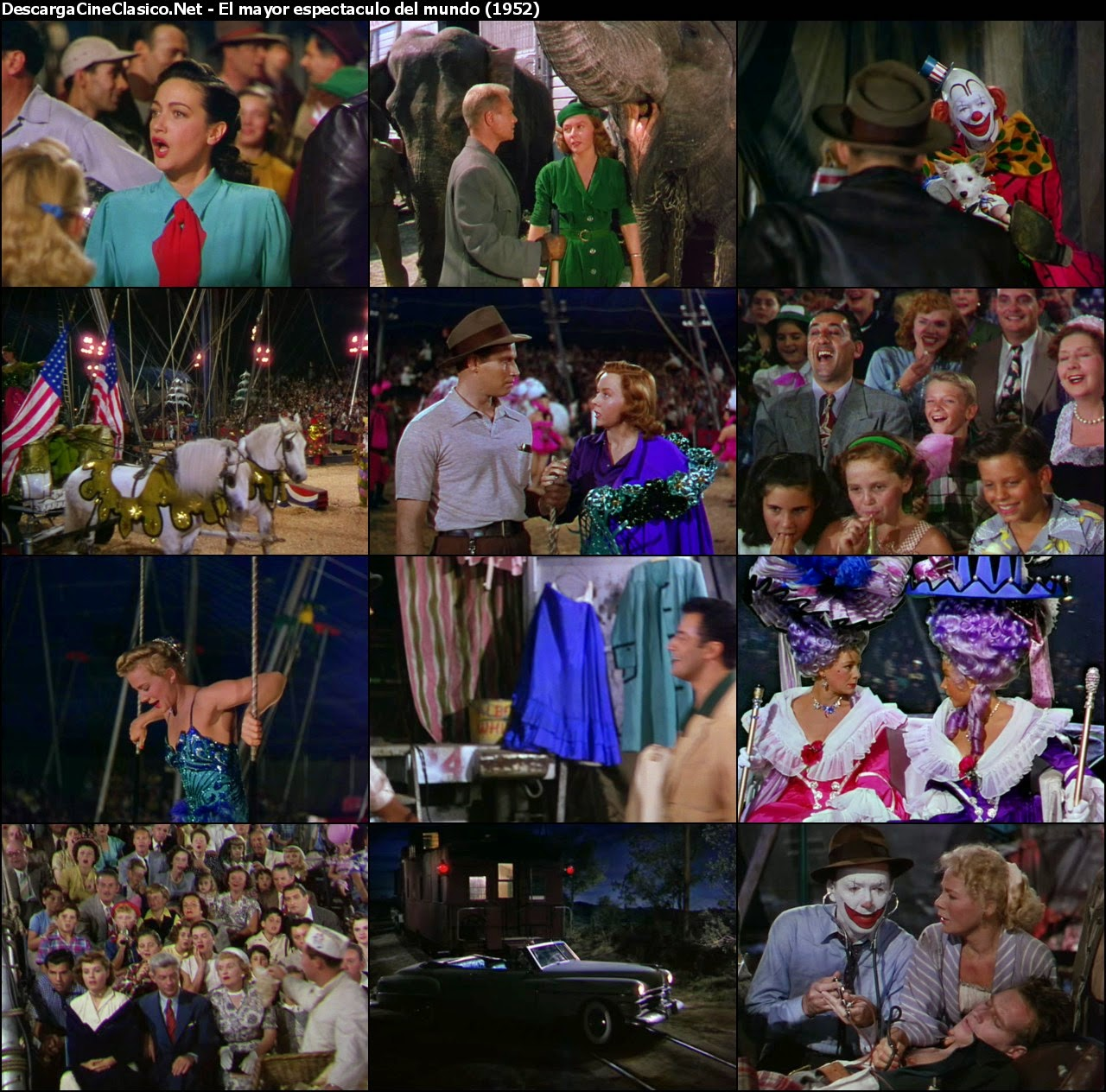 El mayor espectáculo del mundo (The Greatest Show on Earth - 1952)