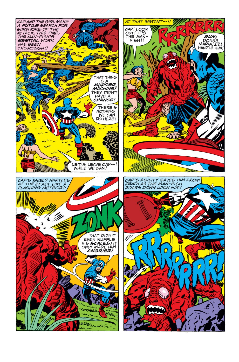 Captain America (1968) Issue #208 #122 - English 15