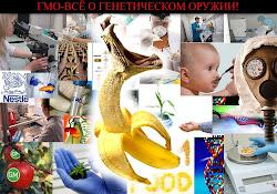 ГМО- генетически модифицированное Оружие для ВАС!
