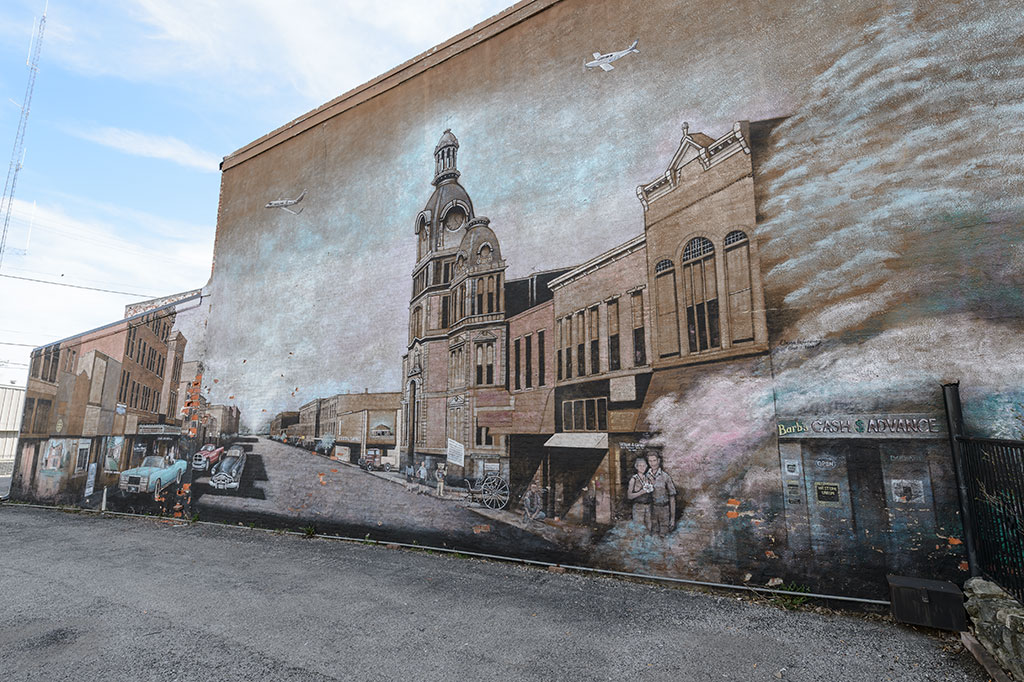 Mural in Van Wert, OH