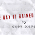 FEATURED STORY: The Day It Rained by Joey Reyes