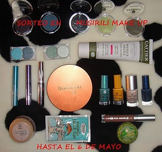 SORTEO EN MUSIRILI MAKE UP