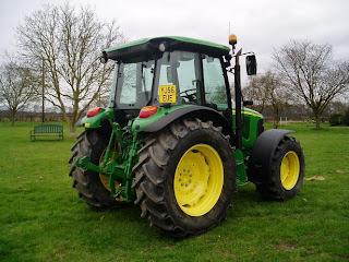 5620.4 743229 Tractor John Deere 5620 71Cp 2007 750h