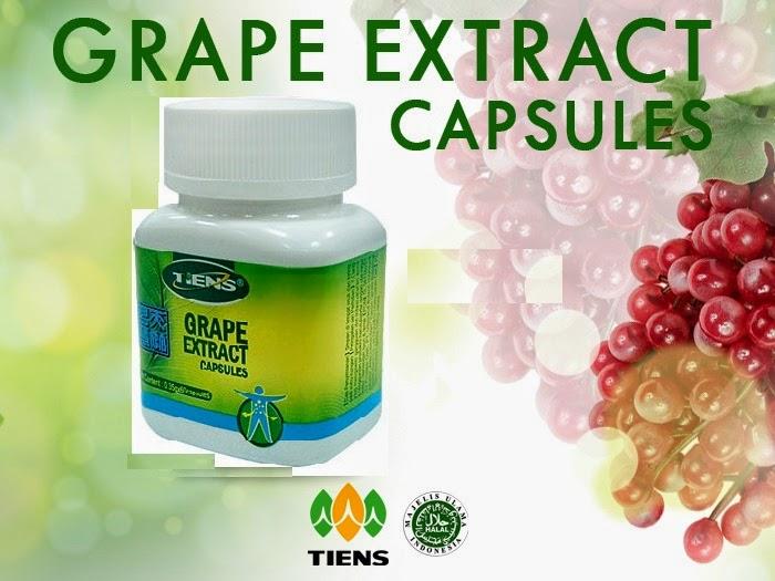 TIENS Grape Extract Capsules, Menghancurkan Kolesterol Dan Menyembuhkan stroke