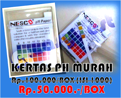 kertas ph murah