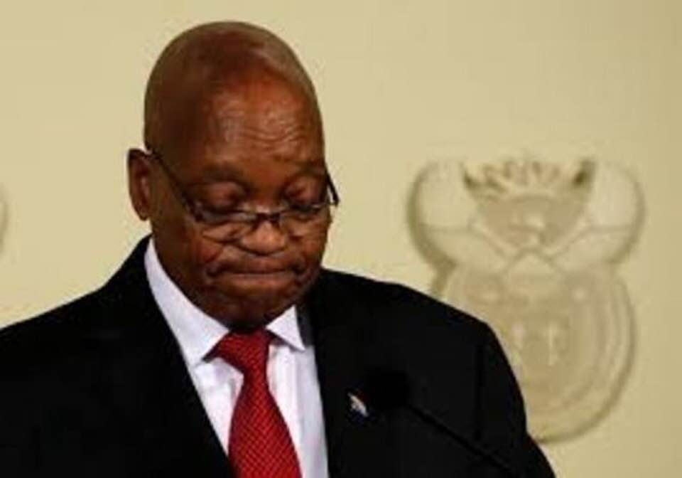 JACOB ZUMA RESIGNS HIS PRESIDENCY