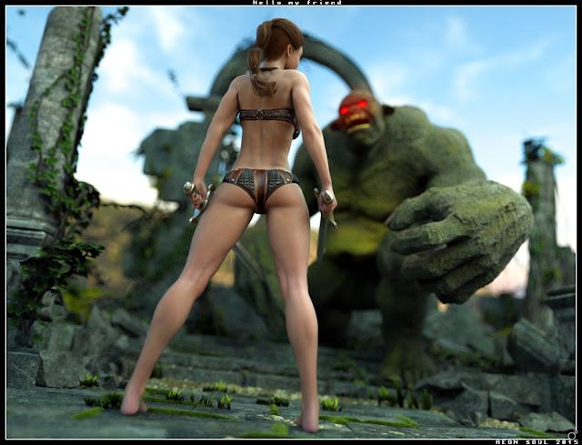 3d Models Art Zone - AlphaKini Bundle - AlphaKini for Genesis 2 Female(s), AlphaKini Future, Contemporary and Fantasy