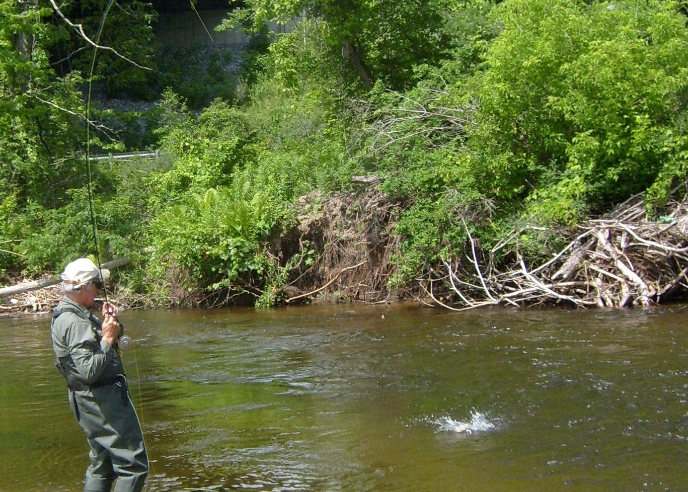 Vermont fly fishing father son trip fly fishing in for Fly fishing guides near me
