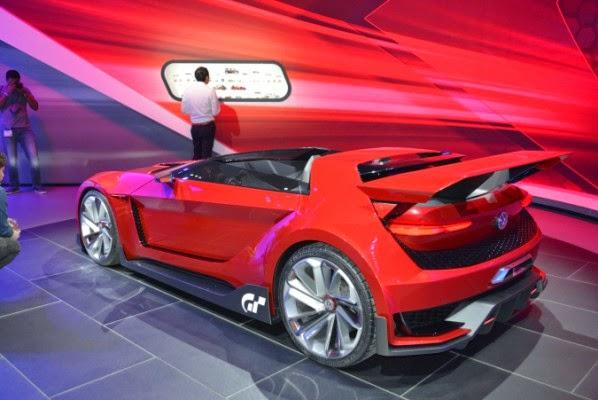 Golf conversível do jogo Gran Turismo 6 do Sony Playstation vira realidade