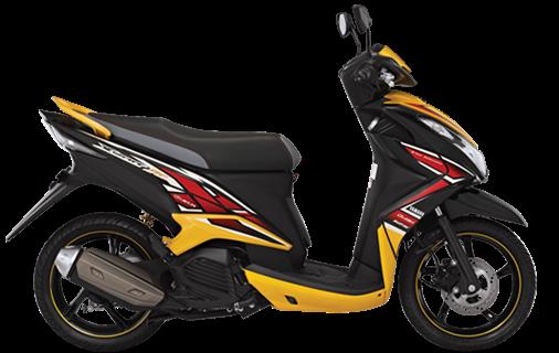 Yamaha 2SV Pakai Mesin 125 cc, Xeon GT atau Nouvo SX.