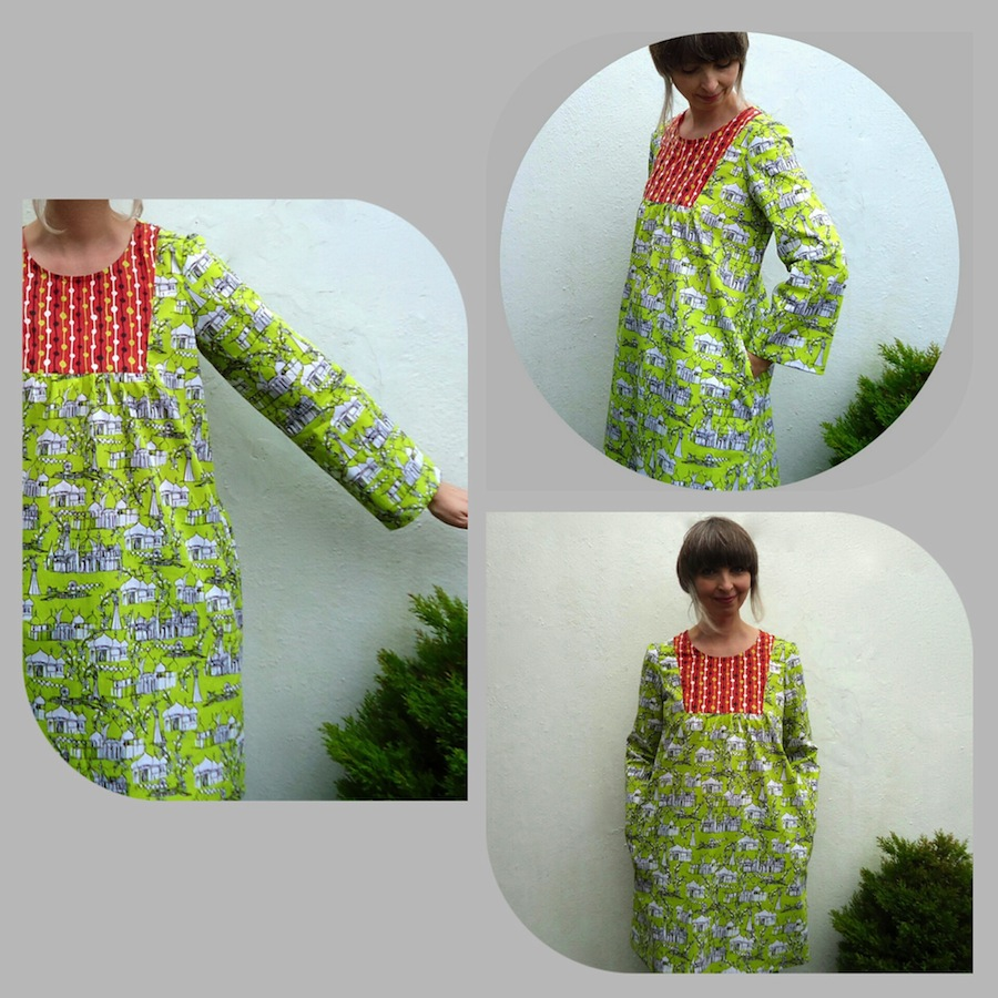 Brighton Pavilion fabric Tova dress by Ivy Arch