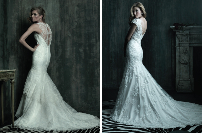 Wedding Dresses With Lace Back : Lace back wedding dresses part belle the magazine