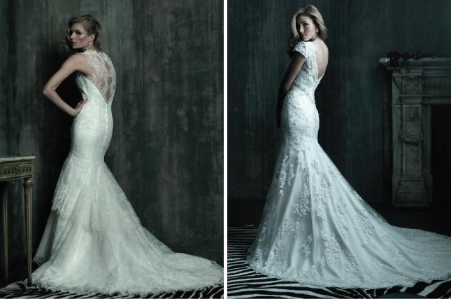 Wedding Dresses With Lace Back : Lace back wedding dresses part belle the magazine