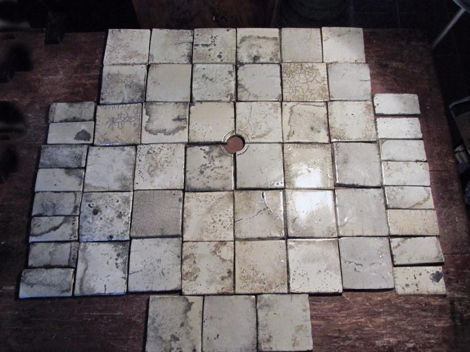 Gioie e arte: piastrelle raku