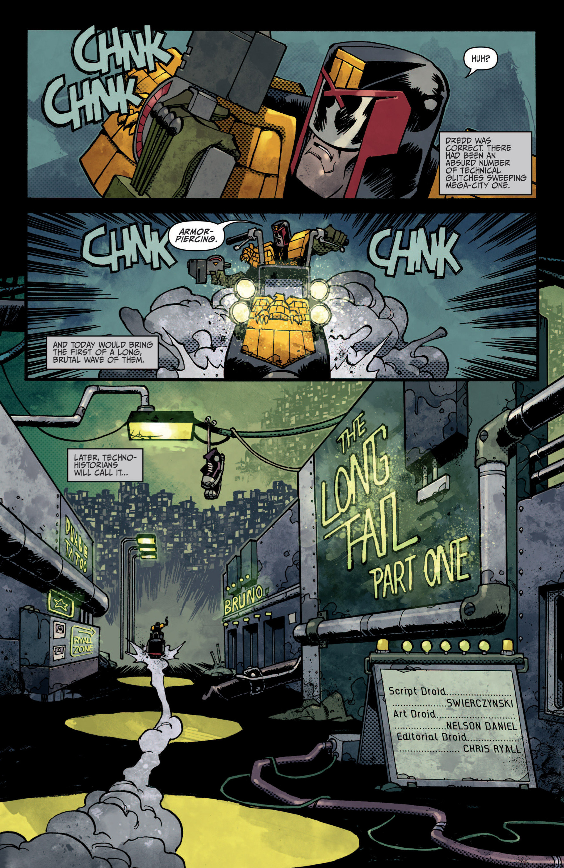 Read online Judge Dredd (2012) comic -  Issue #5 - 8