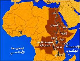نهر النيل دول حوض النيل