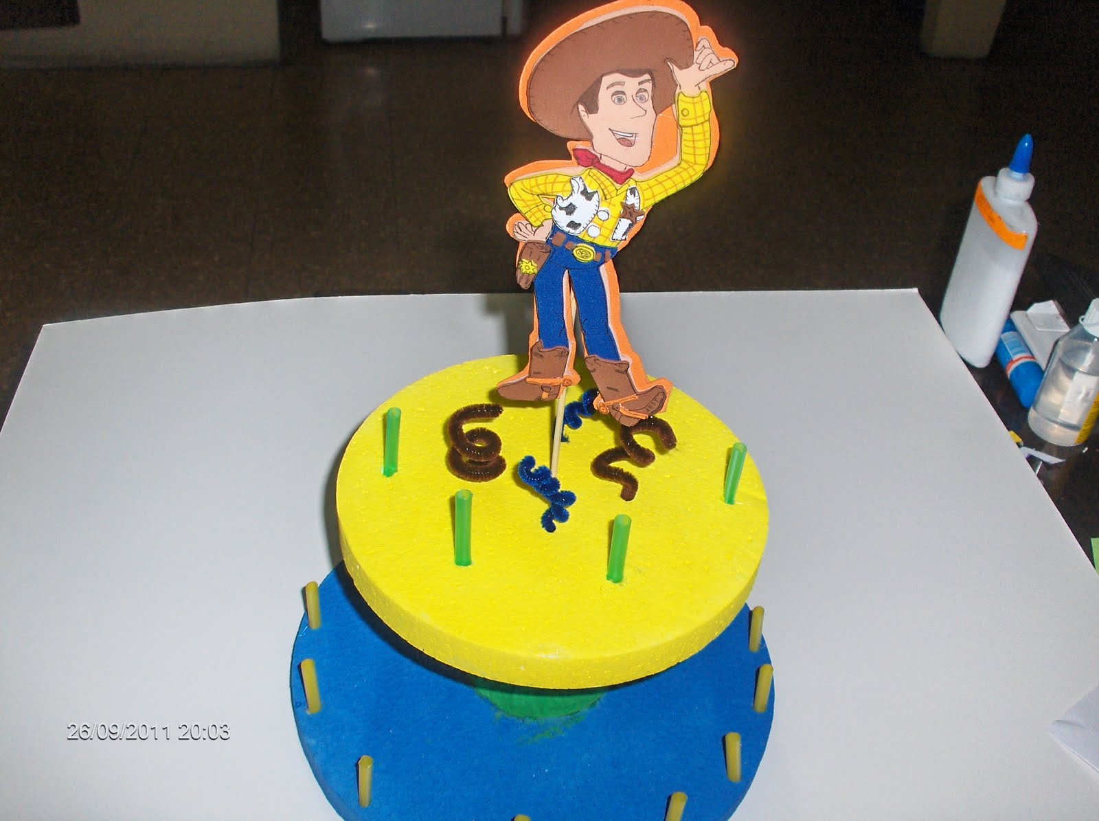 Ericka Manualidades: Chupetera del Vaquero Woody de Toy Story