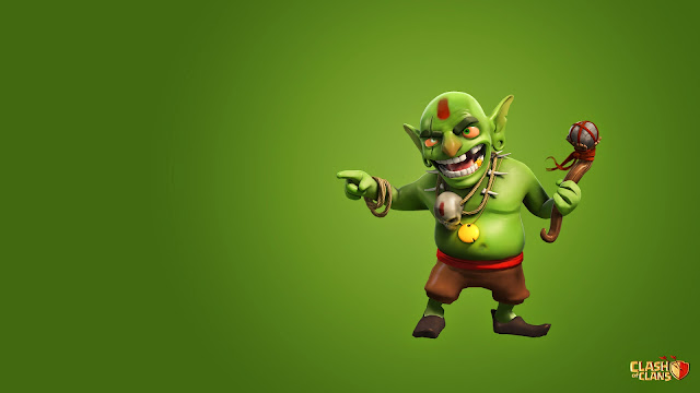 100028-Goblin Clash of Clans HD Wallpaperz