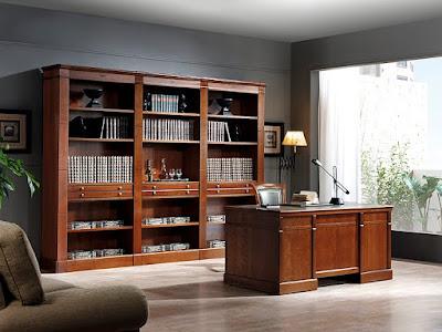 4 estanter as cl sicas - Muebles despacho clasico ...