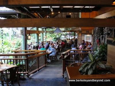 interior of Keoki's Paradise in Koloa, Kauai, Hawaii